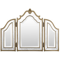 Sylvia 35 X 26 inch Antique Silver Wall Mirror Home Decor