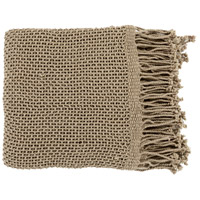 Tibey 70 X 50 inch Tan Throw