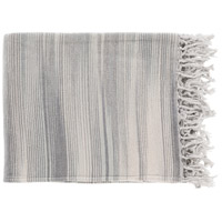 Surya TGN7002-5060 Tanga 60 X 50 inch Grey and Grey Throw