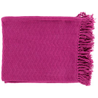 Surya THM6004-5060 Thelma 60 X 50 inch Pink Throw
