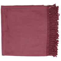 Surya TIA1003-5067 Tian Tian 67 X 50 inch Purple Throw