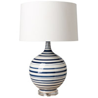 Tideline 27 inch 100 watt Glazed Table Lamp Portable Light