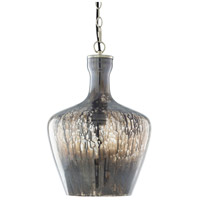 Surya TLC-001 Tilloch 1 Light 12 inch Charcoal Pendant Ceiling Light