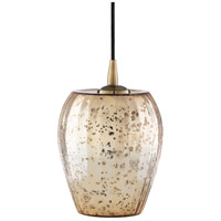 Surya TLN-001 Tilson 1 Light 7 inch Metallic - Champagne Pendant Ceiling Light