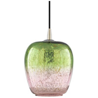 Surya TSB-001 Tisbury 1 Light 8 inch Lime/Pale Pink Pendant Ceiling Light