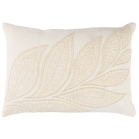 Tansy 19 X 13 inch Cream and Butter Pillow Cover