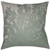 Textures 18 X 18 inch Lavender and Teal Outdoor Throw Pillow