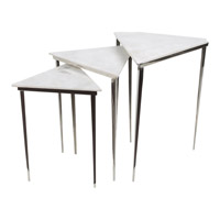Surya WES001-SET Westover 19 X 15 inch Side Table Set