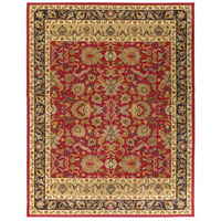 Willow Lodge 118 X 94 inch Red and Brown Area Rug, Polypropylene
