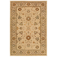 Willow Lodge 87 X 63 inch Neutral and Brown Area Rug, Polypropylene
