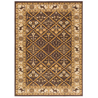 Willow Lodge 87 X 63 inch Brown and Neutral Area Rug, Polypropylene