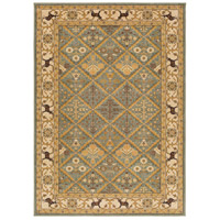 Willow Lodge 87 X 63 inch Green and Neutral Area Rug, Polypropylene