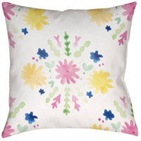 Surya WMAYO018-2020 Flores Burst 20 X 20 inch Pink and Yellow Outdoor Throw Pillow photo thumbnail
