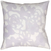 Surya WMOM024-2020 Flowers II 20 X 20 inch Purple and Neutral Outdoor Throw Pillow photo thumbnail