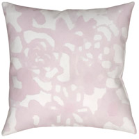 Surya WMOM025-2020 Flowers II 20 X 20 inch Pink and Neutral Outdoor Throw Pillow photo thumbnail