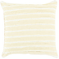 Willow 18 X 18 inch Green and Off-White Pillow Cover