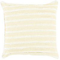Willow 18 X 18 inch Moss and Cream Throw Pillow