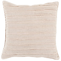 Willow 18 X 18 inch Taupe Throw Pillow