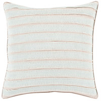 Willow 18 X 18 inch Light Gray and Taupe Throw Pillow