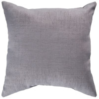 Storm 18 X 18 inch Grey Outdoor Throw Pillow