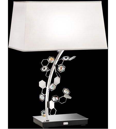 Swarovski Stainless Steel Table Lamps