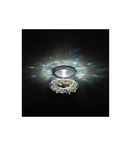 Swarovski Attraction Elegance Halogen Semi-Flush Mount in Chrome with Aurora Borealis Crystal A8992NR000308 photo