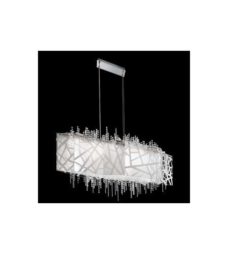 Swarovski Deconstruct LED Pendant in Stainless Steel with Crystal Crystal SDE145N-SS1S photo