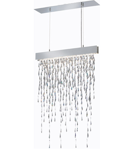 Stainless Steel Crystalline Icicles Pendants