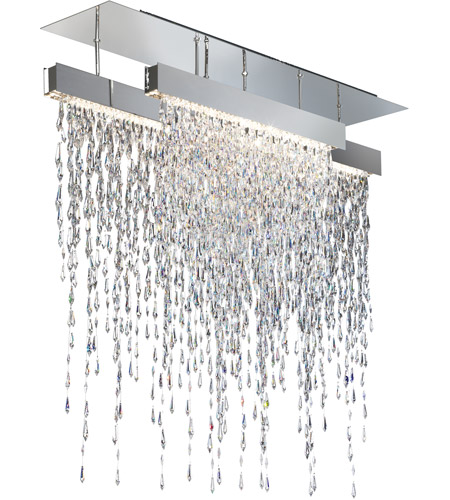 Swarovski Scr435n Ss1s Crystalline Icicles Led 44 Inch Stainless Steel Pendant Ceiling Light