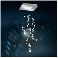 Swarovski SCY550N-SS1S Crystalon LED 16 inch Stainless Steel Pendant Ceiling Light in Clear Swarovski Elements