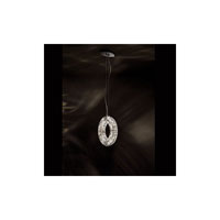 Swarovski Eyris 4 Light Halogen Pendant in Stainless Steel with Clear Crystal A9950NR700257
