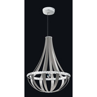 Crystal Empire LED Snowshoe Pendant Ceiling Light in 4000K