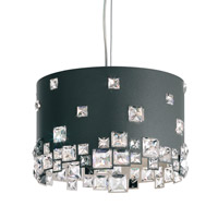 Mosaix 6 Light 13 inch Glimmer Gray Pendant Ceiling Light