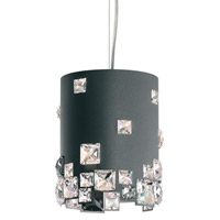 Mosaix 1 Light 7 inch Glimmer Gray Pendant Ceiling Light