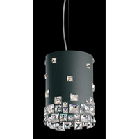 Mosaix 4 Light 9 inch Glimmer Gray Pendant Ceiling Light