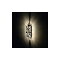 Swarovski Mosaix 2 Light Halogen Semi-Flush Mount in Stainless Steel with Clear Crystal A9950NR700260