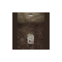 Swarovski Mosaix 3 Light Halogen Pendant in Stainless Steel with Clear Crystal A9950NR700270