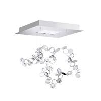 Swarovski SCY511N-SS1S Crystalon LED 16 inch Stainless Steel Pendant Ceiling Light in Clear Swarovski Elements