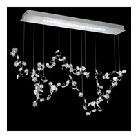 Crystalon LED 13 inch Stainless Steel Pendant Ceiling Light in Clear Swarovski Elements