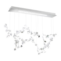 Swarovski SCY521N-SS1S Crystalon LED 13 inch Stainless Steel Pendant Ceiling Light in Clear Swarovski Elements