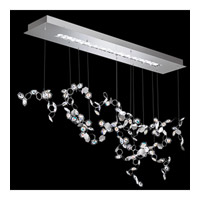 Crystalon LED 19 inch Stainless Steel Pendant Ceiling Light in Aurora Borealis Swarovski Elements