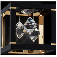 Swarovski SQB111N-BK1S Fyra LED 8 inch Black Wall Sconce Wall Light