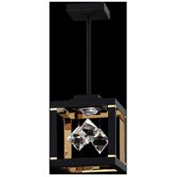 Swarovski SQB410N-BK1S Fyra LED 8 inch Black Pendant Ceiling Light