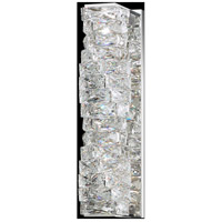 Swarovski STW120N-SS1S Glissando LED 6 inch Stainless Steel Wall Sconce Wall Light
