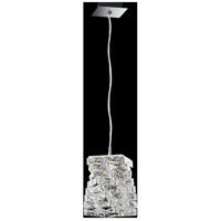 Swarovski STW510N-SS1S Glissando LED 9 inch Stainless Steel Pendant Ceiling Light