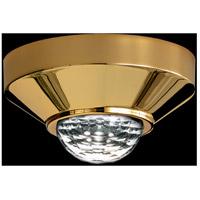Swarovski A8992NR030031CRY Vega LED Gold Plated Flush Mount Ceiling Light