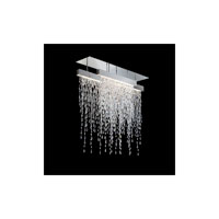 Swarovski SCR435N-SS1S Crystalline Icicles LED 44 inch Stainless Steel Pendant Ceiling Light