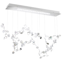Swarovski SCY520N-SS1S Crystalon LED 13 inch Stainless Steel Pendant Ceiling Light in Clear Swarovski Elements