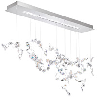Swarovski SCY530N-SS1S Crystalon LED 19 inch Stainless Steel Pendant Ceiling Light in Clear Swarovski Elements