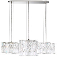 Swarovski SPU141N-SS1A Selene LED 9 inch Stainless Steel Pendant Ceiling Light
